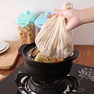 お買い得  キッチン用小物-純粋な綿スープフィルターバッグ草薬材料スチューティーひもひもひも