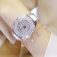 cheap Watch Deals-Women's Quartz Wrist Watch / Bracelet Watch Chinese Water Resistant / Water Proof / Creative Stainless Steel Band Charm / Luxury / Casual