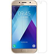 olcso Samsung képernyővédők-Képernyővédő fólia Samsung Galaxy mert A3 (2017) PET 1 db Kijelzővédő fólia Anti-ujjlenyomat Karcolásvédő Matt Ultravékony