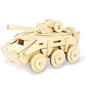 tanie Zabawki i hobby-Zabawki 3D Puzzle Drewniane modele Dinozaur Czołg Samolot Rydwan 3D DIY Drewniany Klasyczny Dla obu płci Prezent