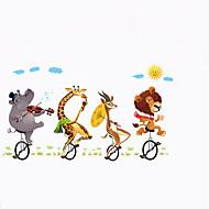 お買い得  -風景 動物 スポーツ ウォールステッカー プレーン・ウォールステッカー 飾りウォールステッカー, ペーパー ビニール ホームデコレーション ウォールステッカー・壁用シール 壁 窓