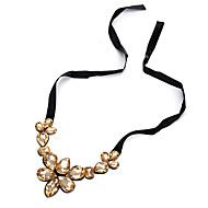 Жен. Ожерелья-бархатки В форме цветка Сплав Цветочный дизайн Цветы Цветочный принт Бижутерия Назначение Для вечеринок День рождения