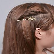 Недорогие $0.99 Модное ювелирное украшение-Европы и США внешней торговли моды простые аксессуары для волос личности джокер волосы клипы листья края шпилька a0307-0308