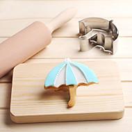 お買い得  キッチン用小物-傘クッキーカッターステンレスビスケットケーキ金型キッチンベーキングツール