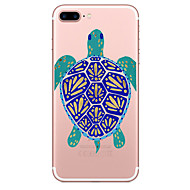 Case For Apple iPhone 7 7 Plus Case Cover Turtles Pattern Painted High Penetration TPU Material Soft Case Phone Case For iPhone 6S 6 Plus