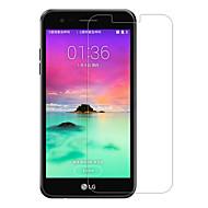 tanie Folie ochronne do LG-Screen Protector LG na LG K10 (2017) Szkło hartowane 1 szt. Folia ochronna ekranu 2.5 D zaokrąglone rogi Twardość 9H Wysoka rozdzielczość