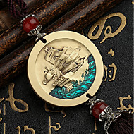 cheap Car Pendants & Ornaments-DIY Auto Pendants Enamel High Embossed Car Ornaments Decorated Gifts Healthy Lucky Car Pendant & Ornaments Pure Copper