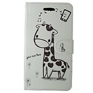 povoljno -Slučaj za Apple iphone 7 plus 7 držač kartica za nositelje kartice sa stalakom flip uzorak puni kućište za tijelo Sika jelena tvrda koža