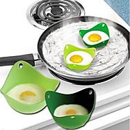 저렴한 -2 개 달걀 도구 For 계란에 대한 실리콘 새로운 도착 고품질