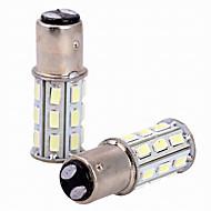 preiswerte -2pcs 6w weißes dc12v 1157 27smd 5630 geführtes Glühlampe-Rückseitenlampe-Endlicht-Bremslicht