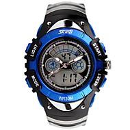 SKMEI Муж. Детские Спортивные часы Нарядные часы Наручные часы Китайский Кварцевый Календарь Секундомер Защита от влаги С двумя часовыми