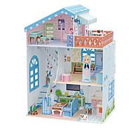 DIY KIT Dolls 3D Puzzles Jigsaw Puzzle Dollhouse Paper Model Toys Famous buildings Architecture 3D Unisex Pieces