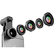 Fanbiya fyb-185 lentille de téléphone portable lentille cpl avec filtre 185 lentille de poisson lentille focale longue portée 2.5x