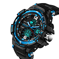 preiswerte -SANDA Herrn Sportuhr Militäruhr Modeuhr Armbanduhr Einzigartige kreative Uhr Armbanduhren für den Alltag digital Kalender Wasserdicht