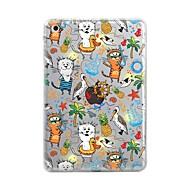 billige Etuier og covers til iPad-Etui til ipad (2017) pro10.5 cover gennemsigtigt mønster bagcover case tegl tegneserie soft tpu til ipad pro12.9 pro9.7 air air2 ipad234