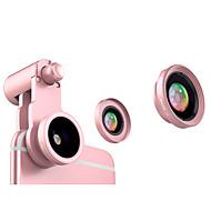 Fanbiya fyb-185 Handylinse 185 Fischaugenlinse 120 Weitwinkelobjektiv 10x Makrolinse Aluminiumlegierungsglas für androides iphone