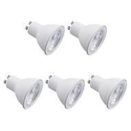 お買い得  LED スポットライト-5個 7W 600lm GU10 LEDスポットライト 8 LEDビーズ SMD 2835 温白色 クールホワイト 220V