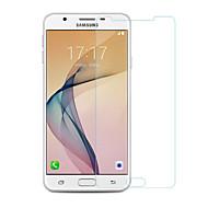お買い得  Samsung 用スクリーンプロテクター-スクリーンプロテクター Samsung Galaxy のために J5 Prime 強化ガラス 1枚 スクリーンプロテクター 2.5Dラウンドカットエッジ 硬度9H ハイディフィニション(HD)