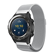 For huawei watch 2 milanese acero inoxidable pulsera banda de reloj