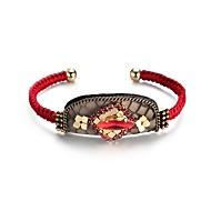 Γυναικεία Χειροπέδες Βραχιόλια Κοσμήματα Βοημία Style Πανκ Στυλ Χιπ-Χοπ Υποαλλερικό Χειροποίητο Γκόθικ κοσμήματα πολυτελείαςΔερμάτινο