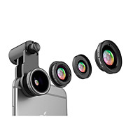 Mobile Phone Lens CPL Lens With Filter Fish-Eye Lens 120 Wide-Angle Lens 10X Macro Lens Aluminium Alloy Glass For Android iPhone