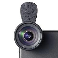 Cherllo 033h teléfono lente lente gran angular lente macro aluminio 15x 28mm teléfono celular kit de lentes para samsung android