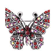 povoljno -Žene Broševi Umjetno drago kamenje Životinjski dizajn Legura Animal Shape Rukav leptir Jewelry Za Party Dnevno Kauzalni Večer stranka