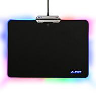 Ajazz mouse pad mouse-ul colorat 9 moduri de iluminare rgb touch control pentru jocuri de birou