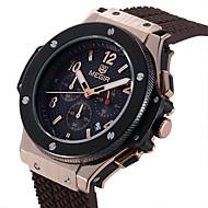 MEGIR Муж. Наручные часы Уникальный творческий часы Повседневные часы Часы Дерево Спортивные часы Модные часы Кварцевый Календарь