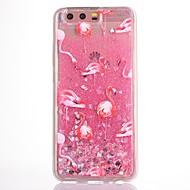Чехол для huawei p10 plus p10 чехол для фламинго шаблон текучая жидкость блеск мягкий tpu materia телефон чехол v9