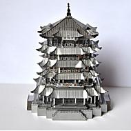 Χαμηλού Κόστους Παιχνίδια και Χόμπι-Παζλ Μεταλλικά παζλ Κινεζική αρχιτεκτονική 3D Φτιάξτο Μόνος Σου Κράμα 6 Ετών και Πάνω