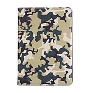 halpa iPad kuoret / kotelot-Etui Käyttötarkoitus Apple iPad Air 2 iPad Air Korttikotelo Tuella Suojakuori Armeijatyyli Kova PU-nahka varten iPad Air iPad Air 2 iPad