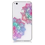 Чехол для huawei p10 lite p8 lite (2017) телефон чехол tpu материал диагональный цветочный узор окрашенный корпус телефона p9 lite p8 lite