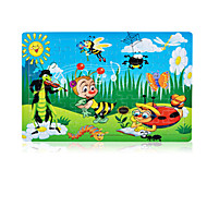 cheap Toys & Hobbies-Jigsaw Puzzle Toys Rabbit Others Sun Flower Wooden Not Specified Pieces