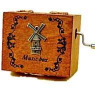 Μουσικό Κουτί Ανεμόμυλος Αυτοκίνητα Παιχνιδιών Παιχνίδια Ανεμόμυλος Καρουζέλ Πλαστικά Ξύλο Κομμάτια Γιούνισεξ Γενέθλια Ημέρα του Αγίου