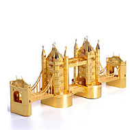 cheap Toys & Hobbies-3D Puzzles Jigsaw Puzzle Famous buildings Architecture 3D Stainless Steel Metal 6 Years Old and Above