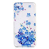 Чехол для huawei p10 p10 lite чехол чехол синие цветы узор окрашены высокое проникновение tpu материал imd процесс мягкий чехол телефон