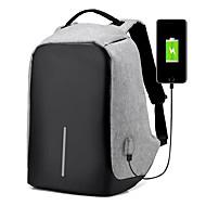Plecak na Solid Color Poliester Materiał Zasilacz Uniwersalny Pamięć flash Dysk twardy Powerbank Myszka Słuchawki