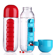 Drinking Bottles Baby Medicine Storage Cup Tablet Container Children Ware Cups Kids Drinkware Plastic Random Color