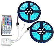 72W Bare De Becuri LED Rigide 12000 lm DC12 V 10 m 600 led-uri RGB