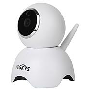 preiswerte -VESKYS 1,3 MP Innen with IR-Schnitt 64(Eingebauter Lautsprecher Eingebautes Mikrofon Tag Nacht Bewegungserkennung Fernzugriff