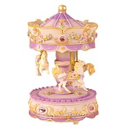 cheap Toys & Hobbies-Music Box Toys Horse Carousel Plastics Lovely 1 Pieces Children's Female Valentine's Day Birthday Gift