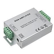 Hkv® 1db led rgb erősítő 12a led vezérlő dc 12-24v vezető csíkfényekhez