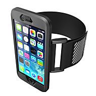 abordables Moda en Tendencia-Funda Para Apple iPhone 7 Plus iPhone 7 Brazalate Brazalete Color sólido Suave Silicona para iPhone 7 Plus iPhone 7 iPhone 6s Plus iPhone