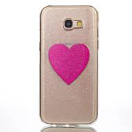 для samsung galaxy a5 (2017) a3 (2017) телефон случай tpu материал любовь флеш-телефон телефон случай