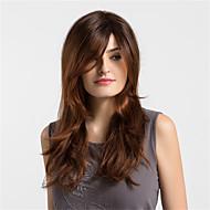 お買い得  -人工毛ウィッグ ルーズウェーブ スタイル キャップレス かつら ブラウン コッパーブラウン 合成 女性用 オンブレヘア ブラウン かつら ロング / 非常に長いです MAYSU ナチュラルウィッグ