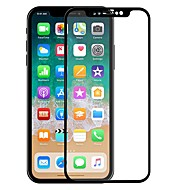 Displayschutzfolie für Apple iPhone X Hartglas 1 Stück Vorderer Bildschirmschutz High Definition (HD) / 2.5D abgerundete Ecken / Kratzfest