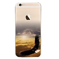 Назначение iPhone X iPhone 8 Чехлы панели Ультратонкий С узором Задняя крышка Кейс для Пейзаж Мягкий Термопластик для Apple iPhone X
