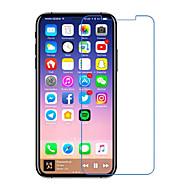Недорогие Защитные плёнки для экрана iPhone-Защитная плёнка для экрана Apple для iPhone X Закаленное стекло 1 ед. Защитная пленка для экрана 2.5D закругленные углы Уровень защиты 9H