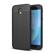 Case Kompatibilitás Samsung Galaxy J7 (2017) J3 (2017) Ütésálló Hátlap Tömör szín Puha Szilikon mert J7 Prime J7 (2017) J5 Prime J5